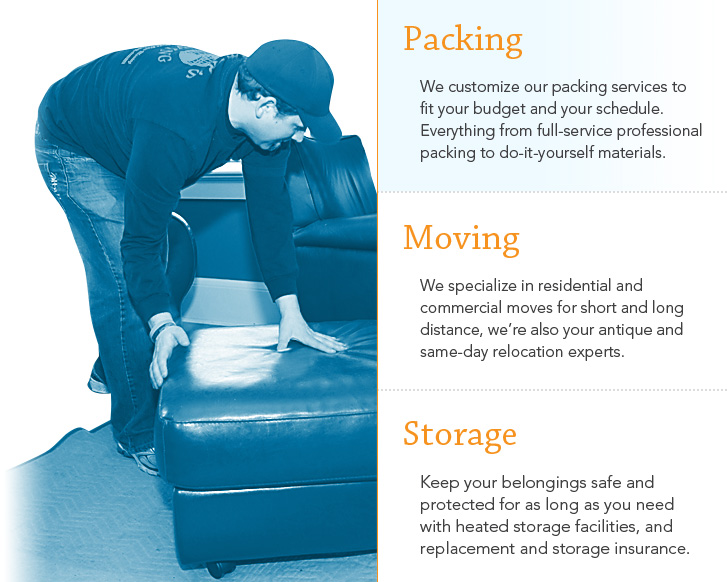Need help moving in. We offer free moving quotes so contact us today.